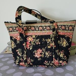 QK Quilted Tote Bag